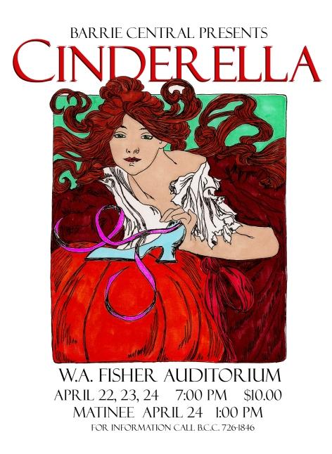 BCC Poster for Cinderella Drama