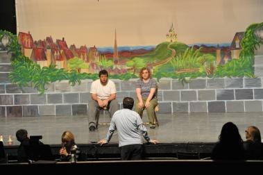 Actors Preparing