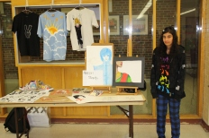 BCC Art Show: Artist's Table