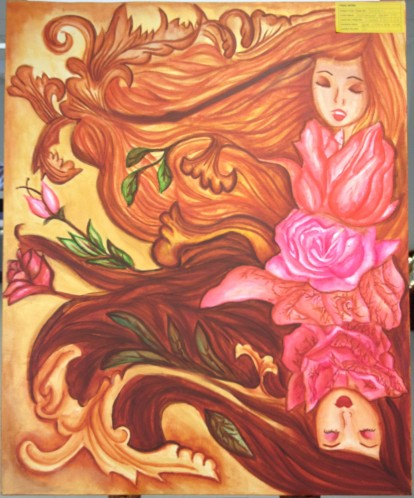 Entwined 2 Final Work Painting