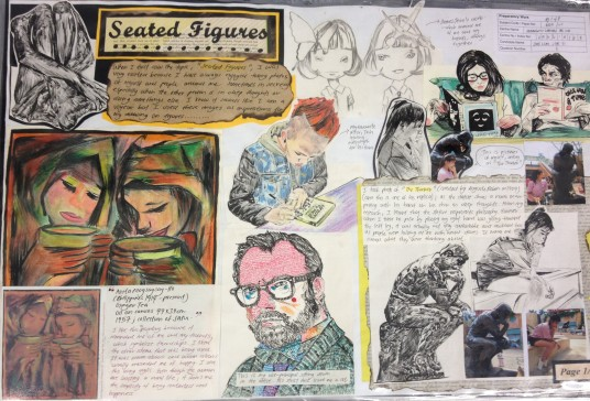 Seated Figures Board 1
