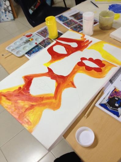 Popkaki - Thai Artist - Acrylic Paint