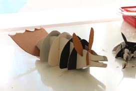 Wooden Sculpture - Model