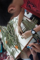 Vietnamese Mats - Weaving from Grass