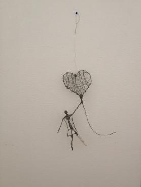 Love Floats - Wire Sculpture