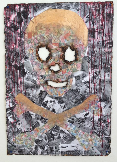 Jolly Roger - Collage/Mixed Media