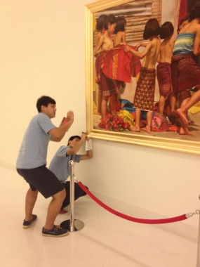 IB Art Trip - Bangkok, MOMA
