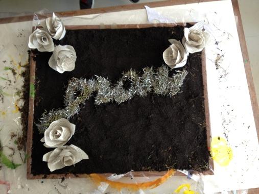 Grow - Eco Art, Mixed Media