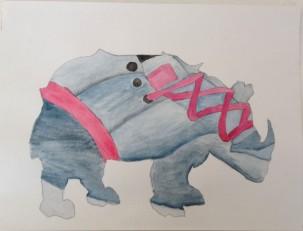 Durer's Sneaker - Watercolour