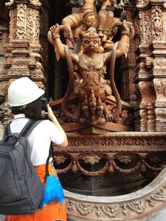 IB Art Trip - Pattaya, Sanctuary,