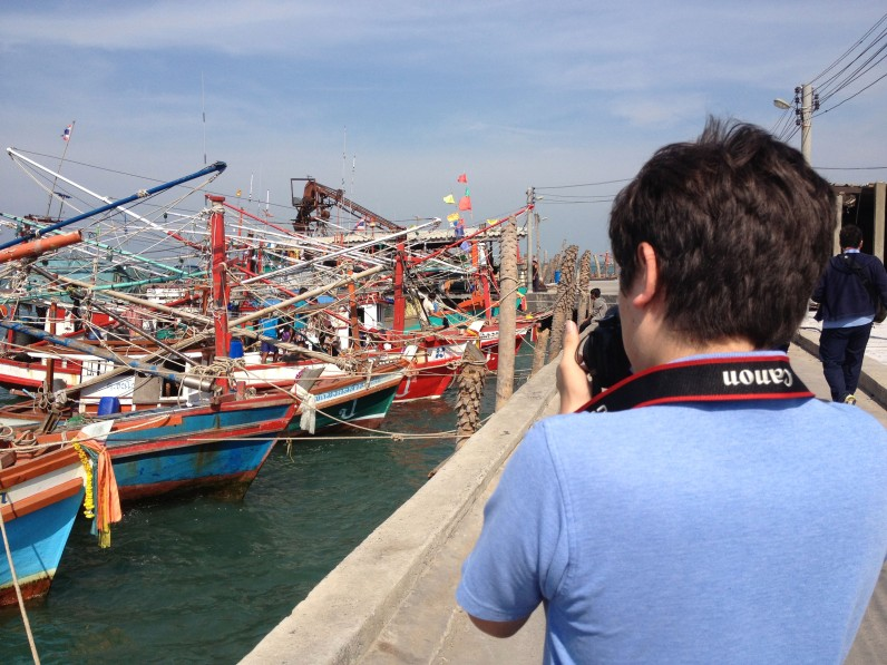 IB Art Trip, Pattaya, Fishing Pier
